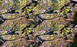 Stone on the mountain Royalty Free Stock Photos