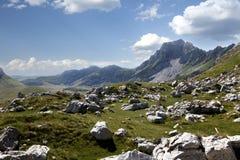 Stone and mountain landscape Stock Photos