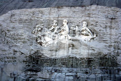 Stone Mountain Monument Stock Photos