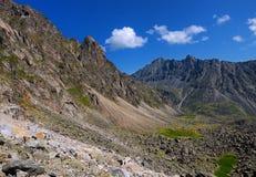 Stone Mountain moraine Stock Photo