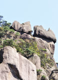 Stone mountain peak Royalty Free Stock Images
