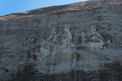 Stone Mountain Sky Stock Photography