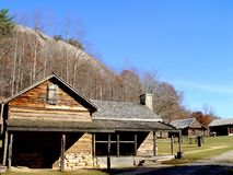 Stone Mountain State Park Farm. In North Carolina royalty free stock images