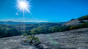 Stone mountain state park in north carolina Stock Images