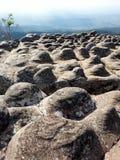 Stone mountain in Thailand. Rock mountain at Phu Hin Rong Kla, Thailand Stock Photo