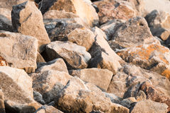 Stone on the mountain Royalty Free Stock Photo