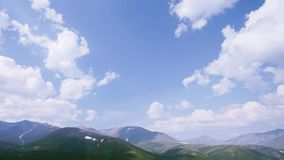 Stone mountain valley. Ural Mountains. Stone mountain valley. Smooth panorama from heaven to the valley West of the Urals. Time lapse filmed in the Ural stock video footage