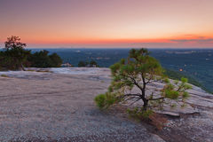 Stone Mountains Park Stock Photography