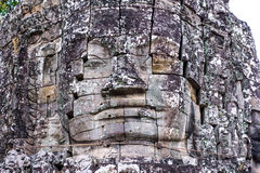 Stone murals and sculptures in Angkor wat Royalty Free Stock Images