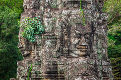 Stone murals and sculptures in Angkor wat, Cambodia Stock Images