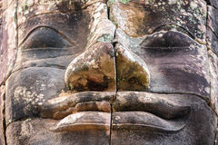 Stone murals and sculptures in Angkor wat, Cambodia Stock Photos