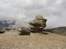 Stone mushrooms of Elbrus. Stone mushrooms on the Northern slope of Elbrus Stock Photography