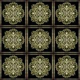 Stone Mystic Symbol Pattern Stock Photos
