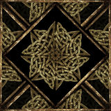 Stone Mystic Symbol Pattern Stock Photography