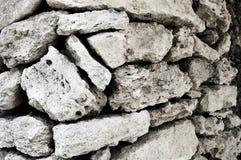 Stone. Natural wall of natural stone Stock Photo