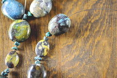 Stone Necklace Royalty Free Stock Image