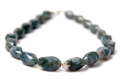 Stone necklace Royalty Free Stock Images