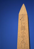 Stone obelisk in Egypt Royalty Free Stock Image