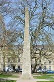 Stone Obelisk Stock Photography