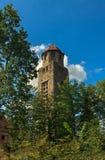 Stone observation tower Bramberk view Stock Photo