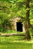 Stone outdoor doorway Stock Photo