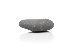 Stone over white Stock Photos