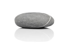 Stone over white Royalty Free Stock Photography