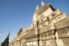 Stone pagoda in Bagan, Myanmar Royalty Free Stock Photo