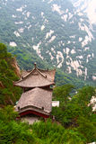 Stone pagoda on the mountain Huashan, China Royalty Free Stock Images