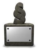Stone paragraph Stock Photo