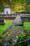 Architecture of ruins in autumn Royalty Free Stock Images