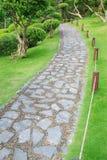 Stone path Stock Image