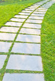 Stone path. In the park stock photography