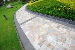 stone path Stock Photos
