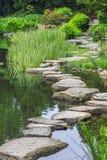 Stone path across water- ishibashi Stock Images