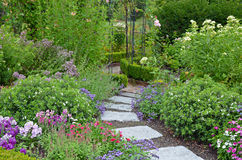 Stone Path In Garden Royalty Free Stock Image