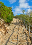 Stone path. Royalty Free Stock Photos