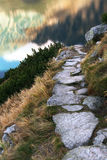 Stone Path Royalty Free Stock Photography