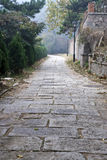 Stone path outdoor Royalty Free Stock Images