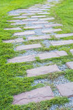 Stone path Royalty Free Stock Image