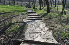 Stone path Stock Photo