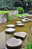 Stone Path through Pond Royalty Free Stock Photography