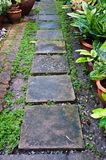 Stone path Stone Royalty Free Stock Photo