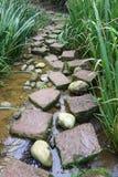 Stone path Stock Photography