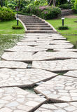 Stone path way Royalty Free Stock Image
