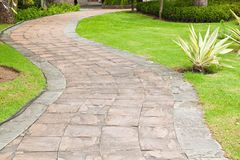 Stone pathway Stock Photography