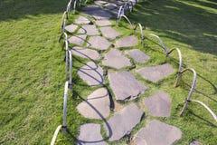 Stone pathway Royalty Free Stock Photos