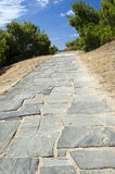 Stone Pathway Royalty Free Stock Photo