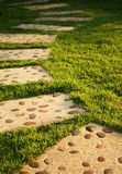 Stone pathway Stock Images