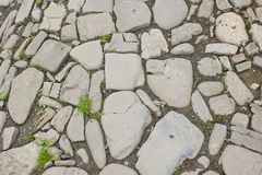 Stone pathway Royalty Free Stock Image